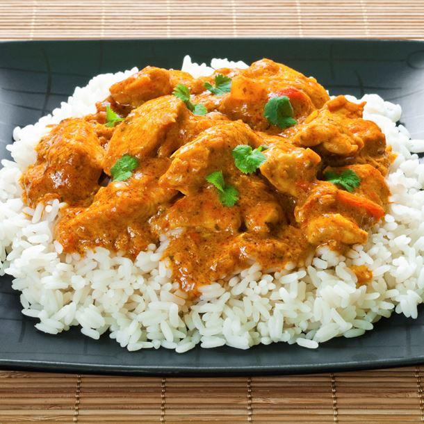 Recette Curry De Poulet Au Riz Basmati Recette Facile Et Rapide Frije