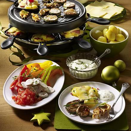Raclette vegetarienne